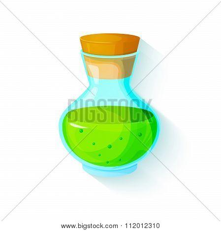 The elixir of Life,  vector illustration