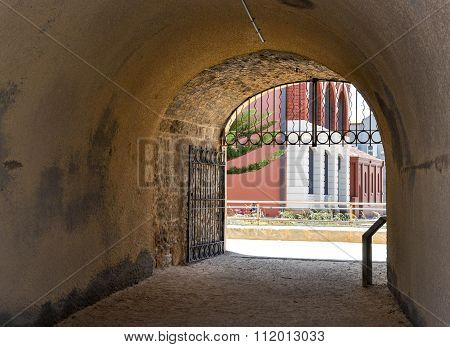 View through the Whaler's Tunnel: Fremantle, Western Australia