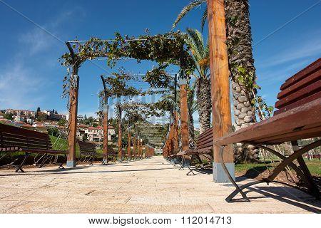 Mediterranean Style City Park Israel
