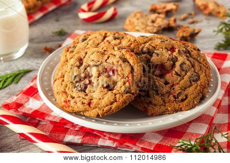 Homemade Chocolate Peppermint Cookies