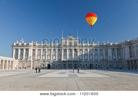 The Royal Palace In Madrid
