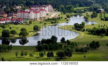 Scenic Living Quarters In Minsk, Belarus