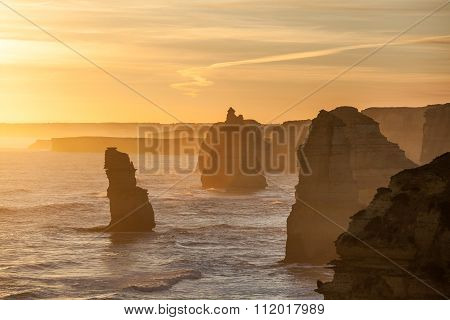 Twelve Apostles Rock Formations, Australia