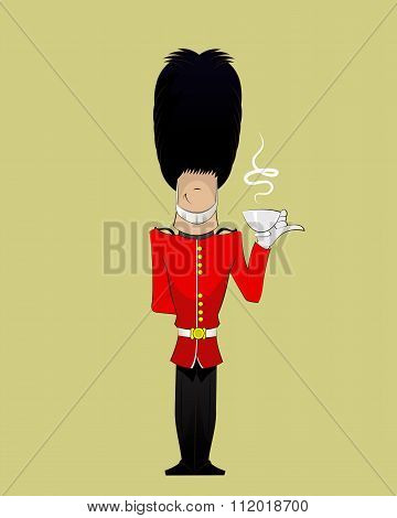 British Soldier Illustration