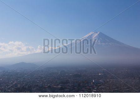 Fuji Mountain skyline