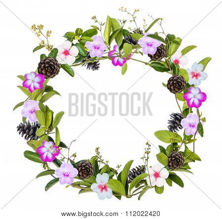 Wreath Of Creeper Flower