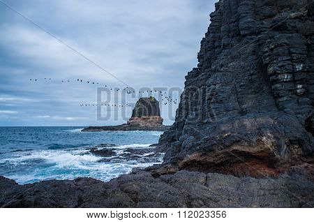 Pulpit Rock At Cape Schanck, Australia