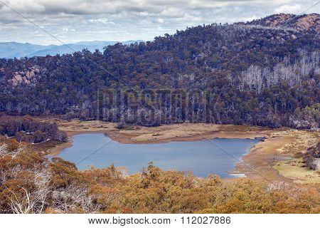Lake Catani Viewed From The Monolith Lookout, Mt. Buffalo