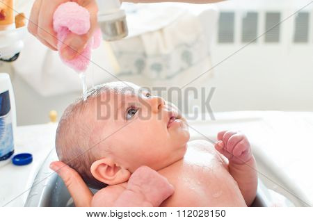 Bathe Newborn