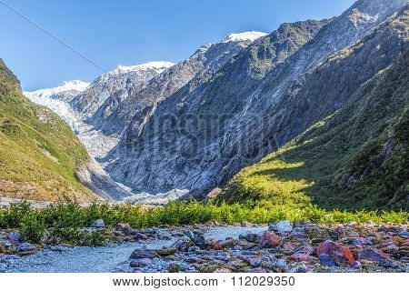 Beautiful Franz Jozef Glacier, South Island, New Zealand