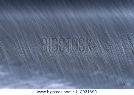 Snow Abstract Background Snowstorm