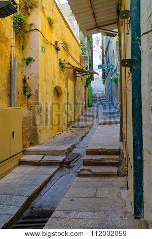 Empty Alleys In Nazareth