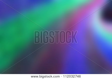 Blur Of Colorful Curved Background