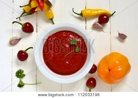 Roasted sweet pepper sauce