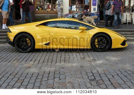 Yellow Lamborghini Gallardo Willimantic