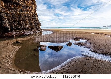 Waipati Beach, Cathedral Cave, Catlins, New Zealand