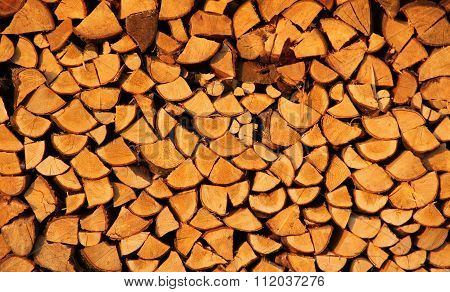 chunks of wood