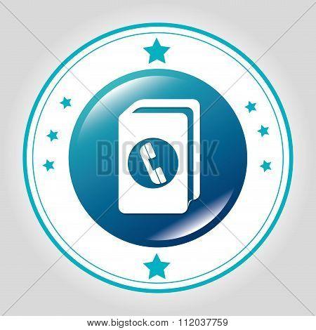 Phonebook Line icon