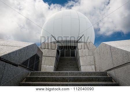 Radar Station On Grand Ballon