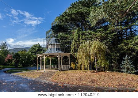 Beauriful Gazebo At Maroondah Reservoir Park