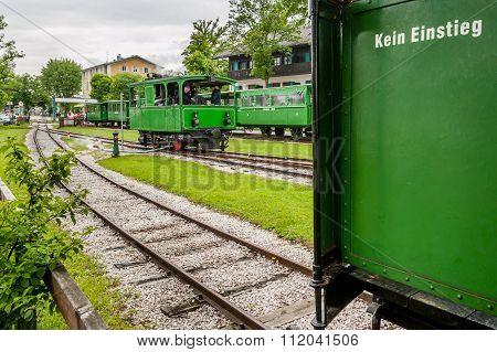 Steam Trains At Chiemsee