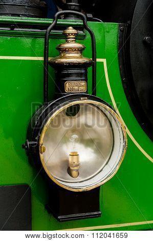 Steam Train At Chiemsee