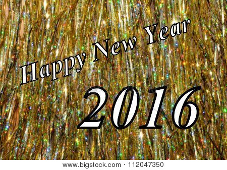 Happy New Year greeting