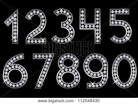 Silver metal numbers