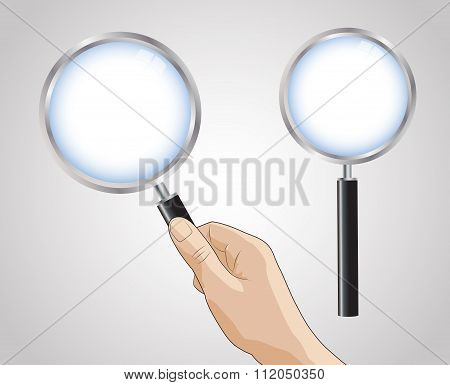 The Hand Hold Magnifying