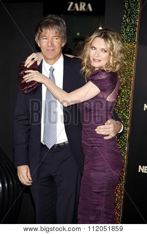 David E. Kelley and Michelle Pfeiffer at the Los Angeles Premiere of