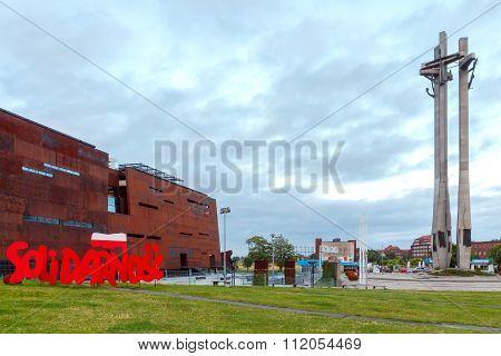 Gdansk. Solidarity Museum.