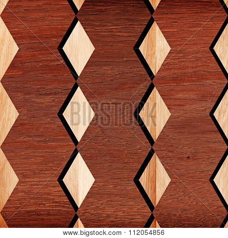 Texture Pattern For Continuous Replicate - Wooden Surface