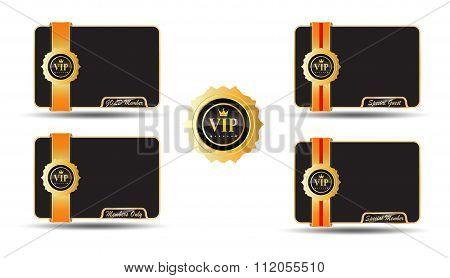 VIP Member Golden Card