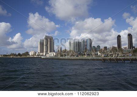 San Diego City Harbor View