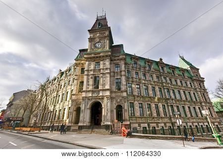 Building Of Quebec Ministry Of Finance - Quebec City, Canada
