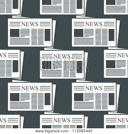 Newspaper vector background