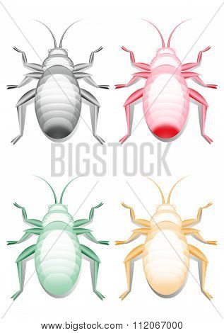 Colored Bugs Images