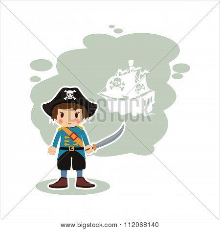 boy sailor,a pirate