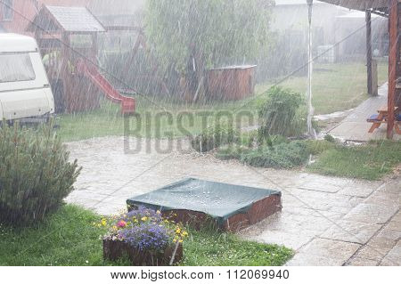 Torrential Rains In The Spring.