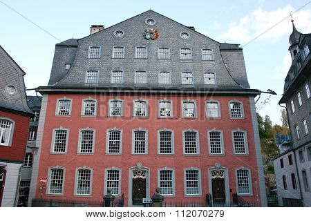 The Red House In Monschau