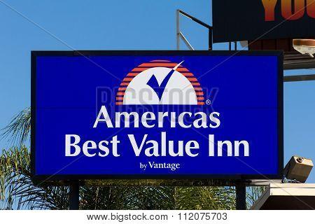 Americas Best Value Inn Sign