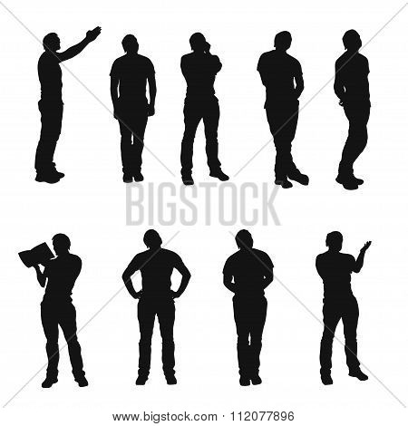 picture of silhouette