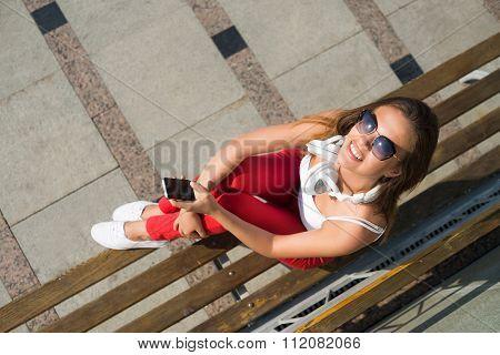 Summer weekend outdoors