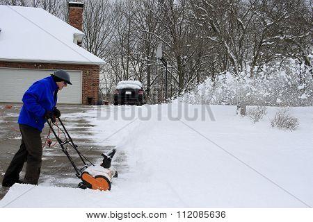 Snowblower is Handy