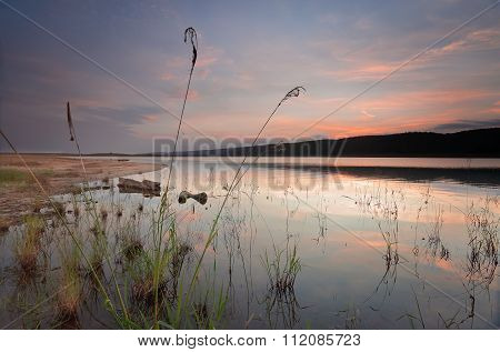 Lake Burralow After Sunset Australia