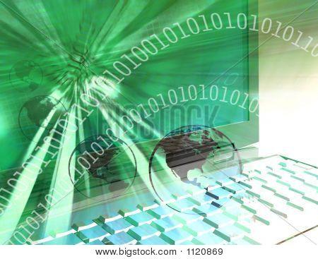 Computer Technology World - Green