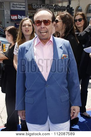 HOLLYWOOD, CALIFORNIA - April 10, 2011. Sergio Mendes at the Los Angeles premiere of