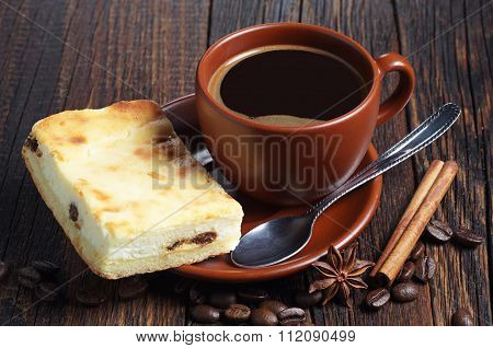 Coffee With Cheesecake