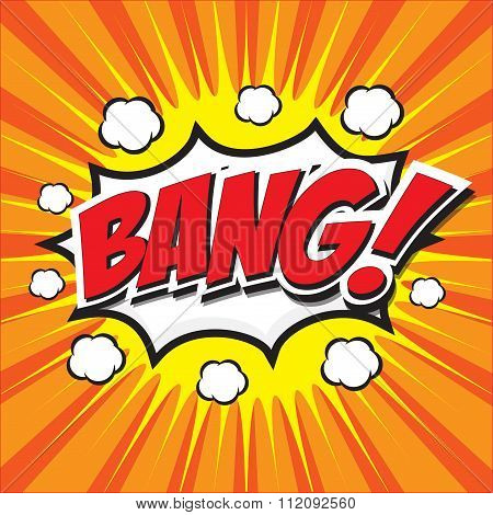 BANG! wording sound effect set design