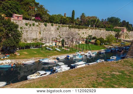 Old Fortress In Kerkyra, Corfu Island
